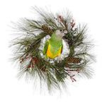 Free Holiday Bird Background Tile