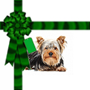Free Christmas background tile for websites & Twitter