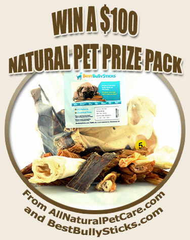 Win $100 Natural Pet Treat Prize Pack