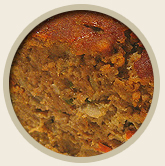 Dog food recipe - turkey & seafood meatloaf for heart health
