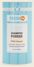 Fresh Dog Dry Shampoo Powder Review