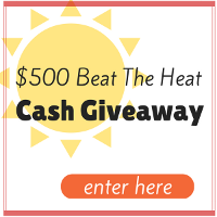 $500 Beat the Heat Giveaway