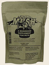 MUSH Medicinal Mushroom Pet Supplement