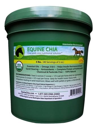 Organic Equine Chia for Horses